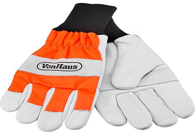 VonHaus Certified Chainsaw Gloves